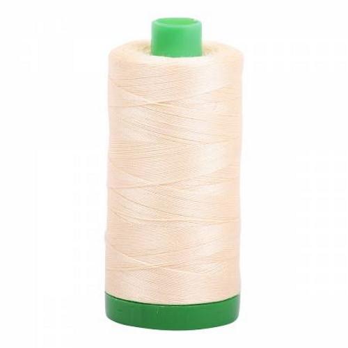 Butter Cotton Mako Thread - 40wt - 1092 yards (1000m) - MK40-2123