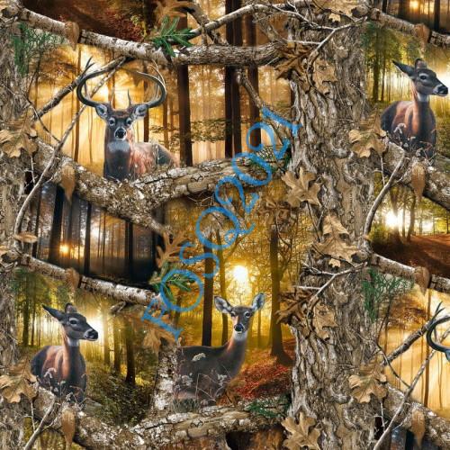 Real Tree Daybreak Edge Fabric - 1168