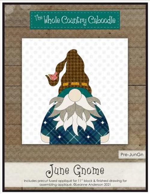 June Gnome Precut Fused Applique Pack - WCCPRE-JUNGN