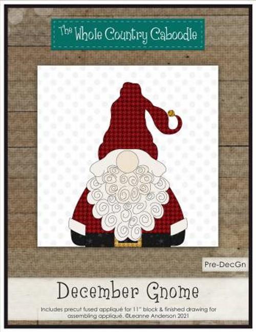 December Gnome Precut Fused Applique Pack - WCCPRE-DECGN