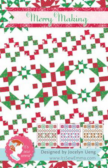 Merry Making Quilt Pattern - ISE-247