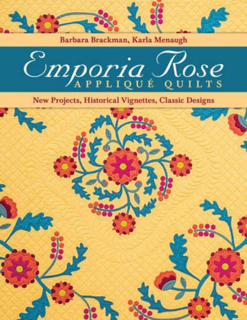 EMPORIA ROSE APPLIQUE QUILTS BOOK