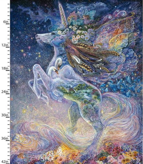 Celestial Journey Unicorn Panel - 17138-MLT-CTN-D