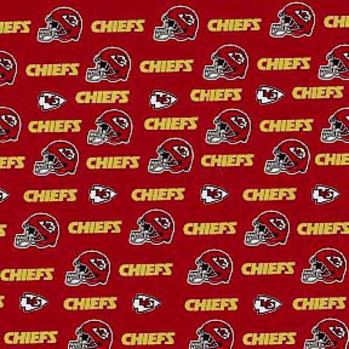 KANSAS CITY CHIEFS LICENSED FABRIC