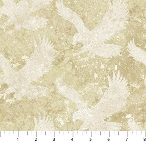 STONEHENGE TAN MARBLE WITH ETCHED EAGLES FABRIC