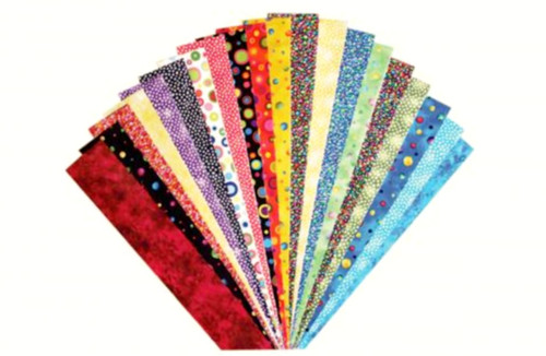 FABRICATIONS STRIPS - LOTS OF DOTS
