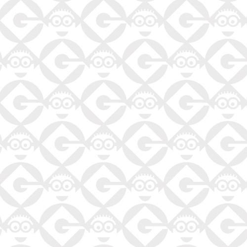 GRAY AND WHITE GEOMETRIC BLENDER FABRIC