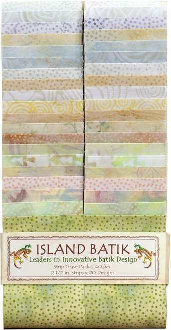 "ISLAND BATIK ""FEEDSACK"" STRIP TEASE PACK"