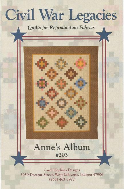 ANNE'S ALBUM #203