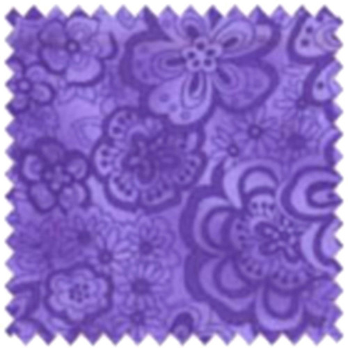 DARK LILAC FLOWERS ON A LILAC BACKGROUND