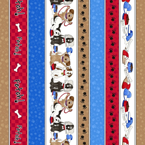 DOGGY ITEM THEMED STRIPE