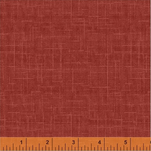 RED TEXTURED LOOK COORDINATE FABRIC