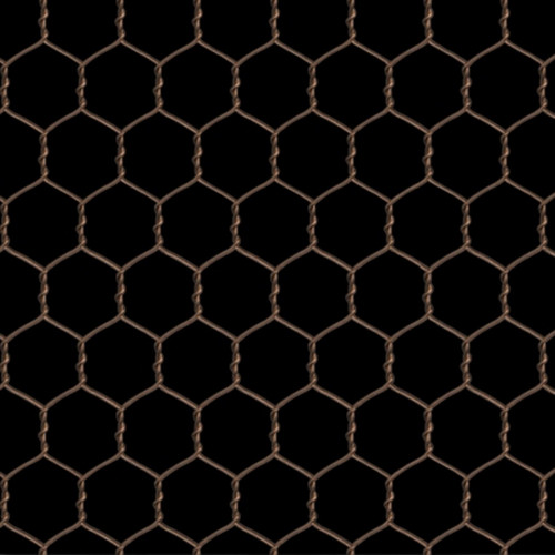 PINK AND BLACK SMALL PATTERN CHICKEN WIRE FABRIC
