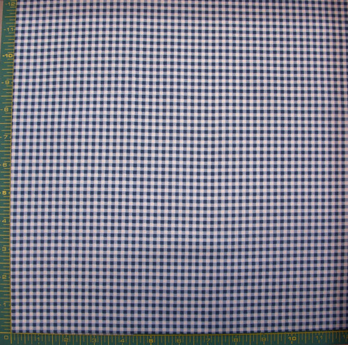 BLUE AND WHITE CHECKED COORDINATE FABRIC-1