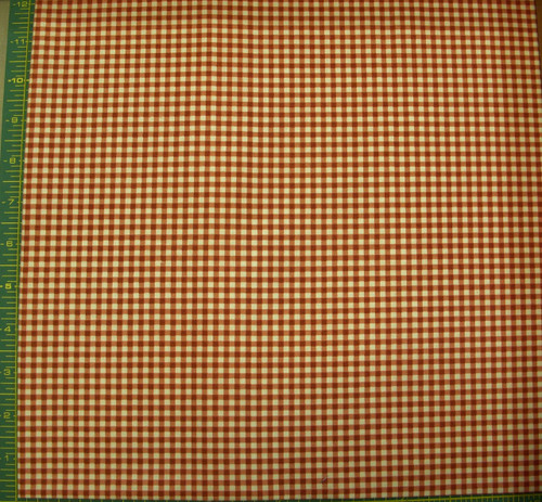 RED AND WHITE CHECKED COORDINATE FABRIC-1