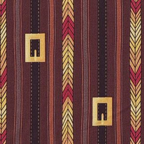 FIRST THANKSGIVING BUCKLE STRIPE FABRIC
