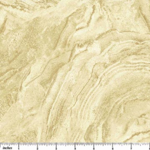 STONEHENGE BROWN, TANS & WHITE MARBLE FABRIC