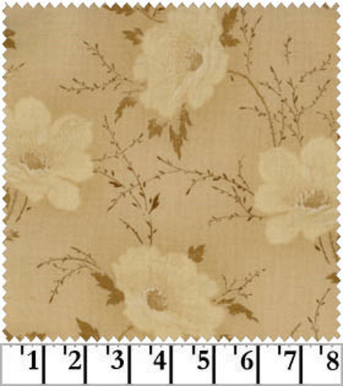 OPEN ROSE - CREAM FABRIC