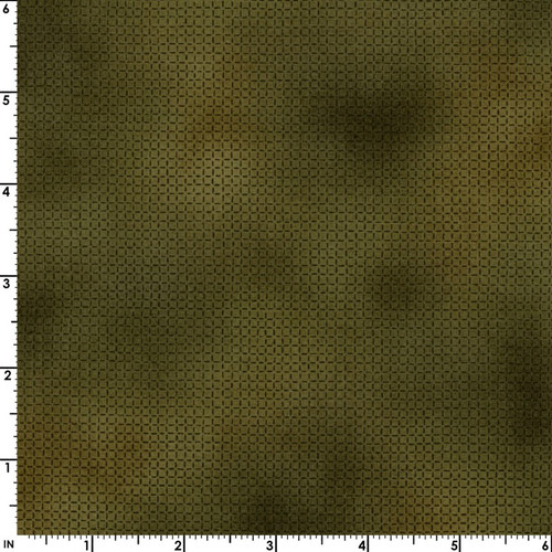 OLIVE CROSSHATCH FABRIC