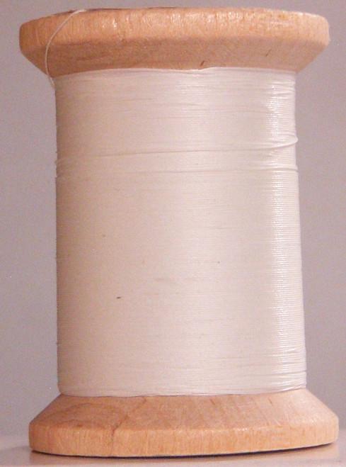 HAND QUILTING THREAD - GLAZED COTTON - WHITE