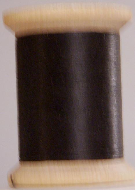 HAND QUILTING THREAD - GLAZED COTTON - BLACK