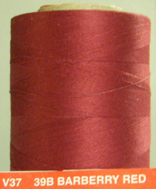 QUILTING AND CRAFT THREAD - BARBERRY RED