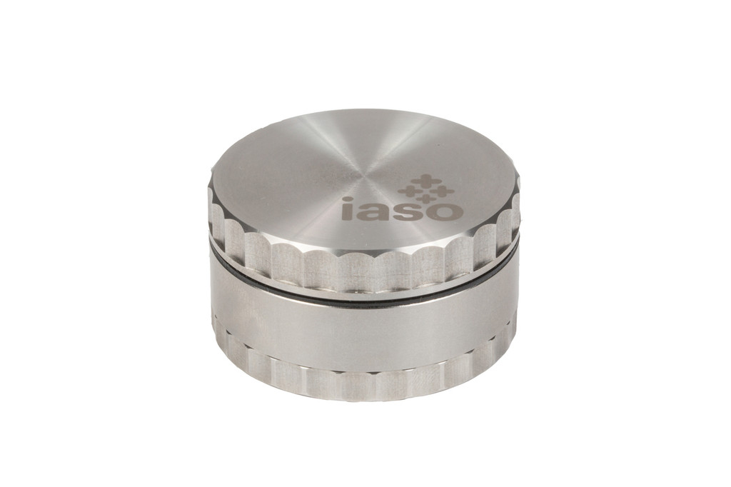 Three Piece Stainless Steel Grinder