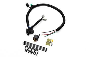 Dual Spal Fan Wiring Harness - Standard Relay