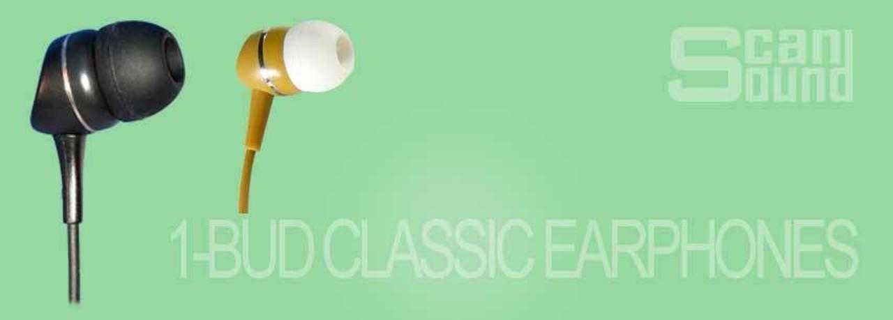 1-BUD Classic Earphones