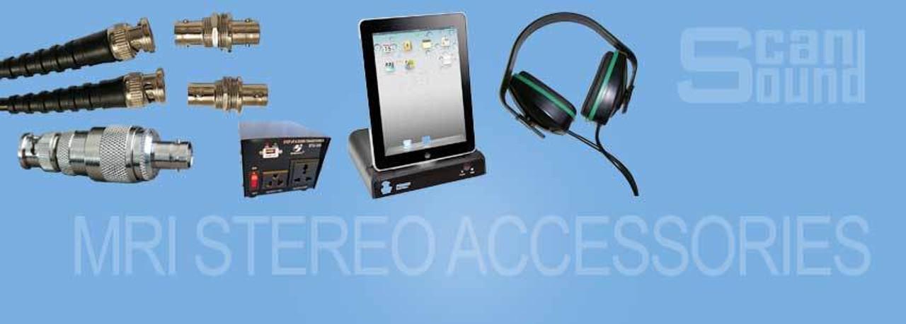 MRI Stereo System Accessories