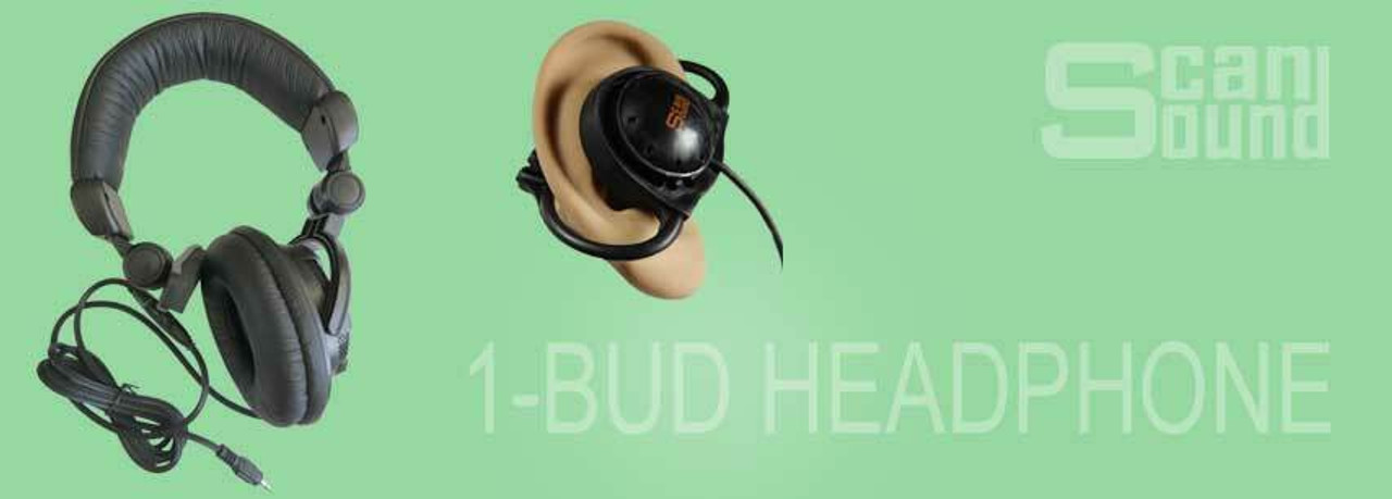 Single-Ear 1-BUD Headphone