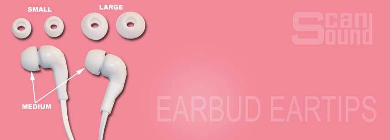 Replacement Earbud Eartips