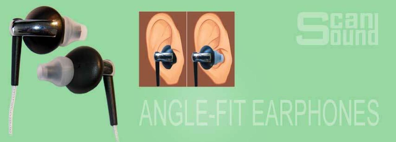 Angle-Fit Earphones