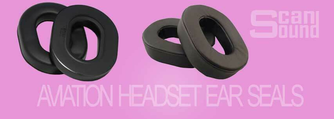 Aviation Headset Ear Seals