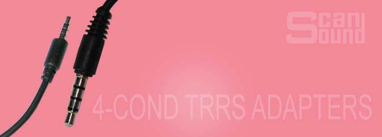 4-Conductor TRRS