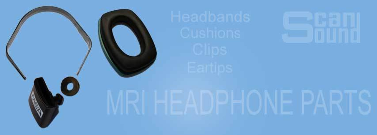 MRI Headphone Parts