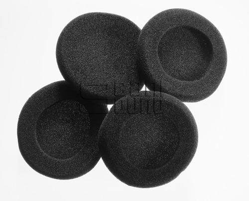 Package of 4 Black Foam Earpads