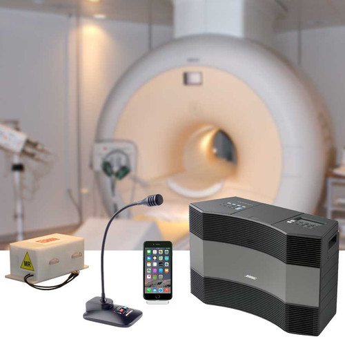 Deluxe MRI Patient Stereo Kit, Model J-4002