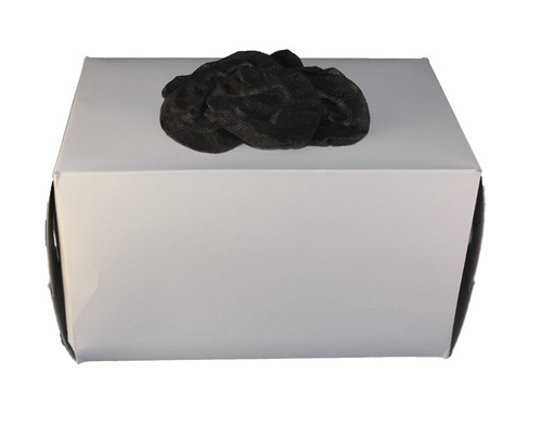 Dispenser Box with 1,000 small black headphone covers