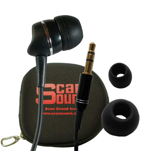 1-BUD Gold earphone and Carrying Case