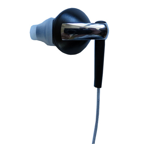 Angle-Fit left earphone (rear view)