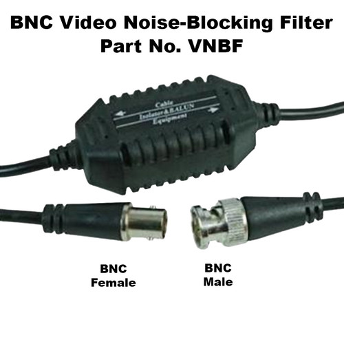 BNC Video Noise Isolation Filter for MRI