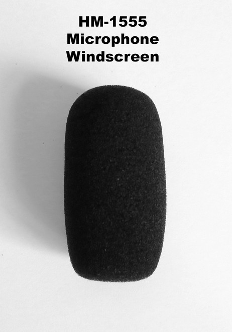 Side View of HM-1555 Windscreen
