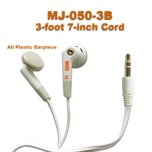 Stereo Earphones available for bulk purchases by schools and training centers