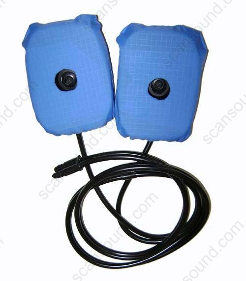 MRI-Safe Pneumatic Pad Headset
