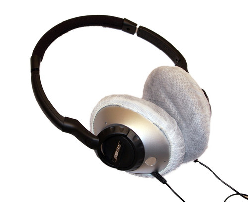 Large size headset covers fit onto Bose Headphones