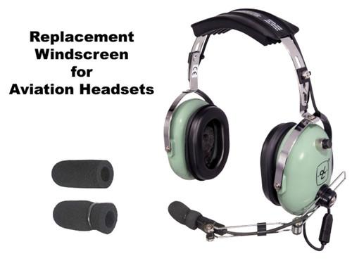 Aviation Headset Windscreen