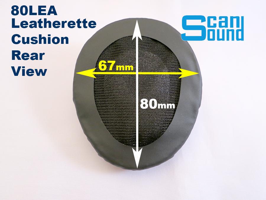80LEA Teardrop Shaped Cushion Measurements