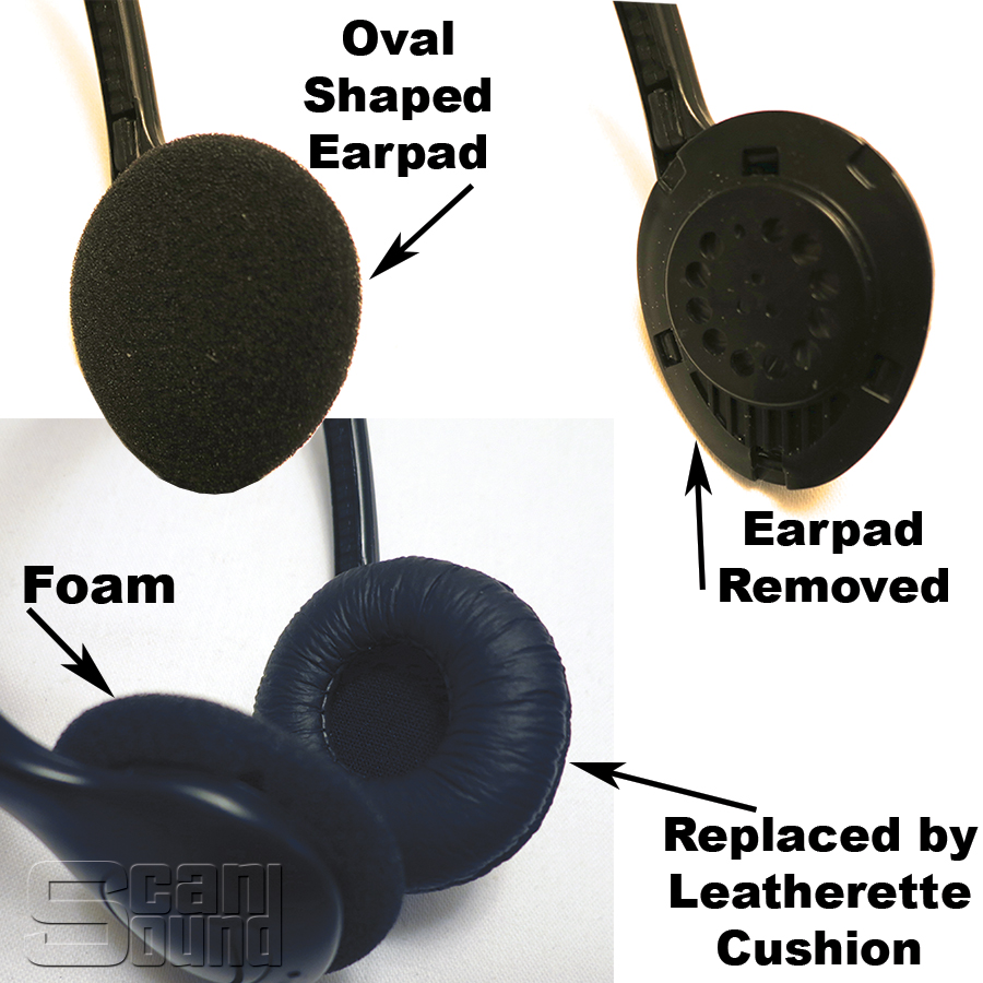 Replacement headphone cushions