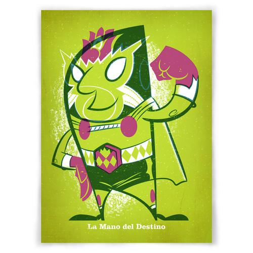 La Mano del Destino 5x7 UPA Print